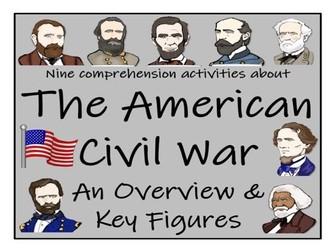 UKS2 History - American Civil War Reading Comprehension Book