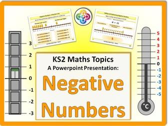 Negative Numbers KS2