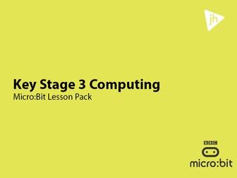 KS3 Computing BBC Micro:Bit Programming Unit of Work
