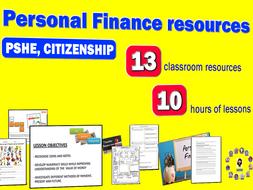 Personal Finance Resources (KS3, KS4 & KS5)