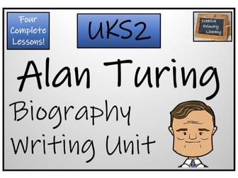 UKS2 History - Alan Turing Biography Writing Unit