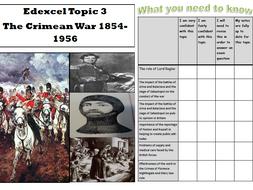 Edexcel British Experience of Warfare - Booklet 3 - The Crimean War 1854-1856