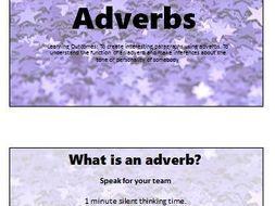 Adverbs: Literacy Lesson