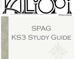 SPAG Workbook and Study Guide