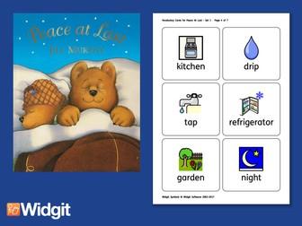 Peace At Last - Big Book Flashcards with Widgit Symbols