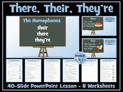 Homophones - Their, There and They're