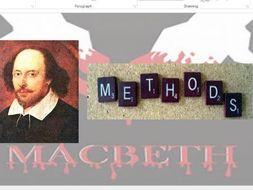Macbeth lesson - Writer's methods