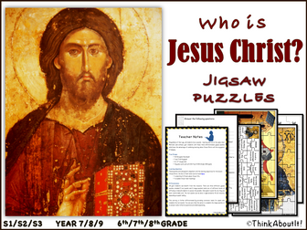 Who is Jesus Christ? - Puzzles
