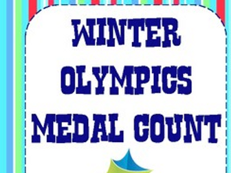 Winter Olympic Medal Count Data Catcher