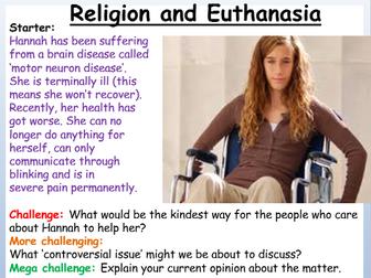Euthanasia Sanctity of Life