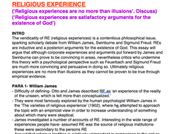 OCR RELIGIOUS STUDIES FULL Philosophy AS ESSAY PLANS