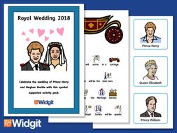 Royal Wedding 2018 with Widgit Symbols