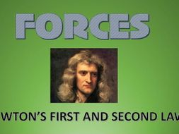 RESULTANT FORCES - NEWTON'S 1st and 2nd LAWS
