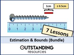 Place Value, Rounding, Estimation and Bounds BUNDLE (7 Lessons)