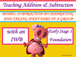 Model Subtraction by separating and taking away part of a group