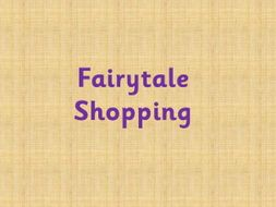 Fairytale shopping - Choose your own items