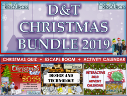 D&T Design Technology Christmas Bundle