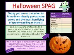 Halloween English
