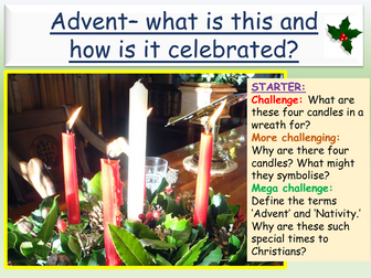 Christmas: Advent