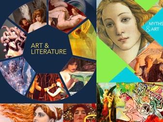 Art Mythology ~ Painting Myths ~ 181 Slides ~ Art & Literature ~ Highly Visual