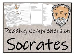 UKS2 History - Socrates Reading Comprehension Activity