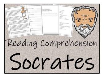 UKS2 History - Socrates Reading Comprehension Activity