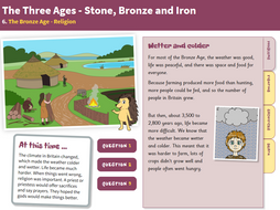 Religion - Interactive Teaching Book - The Bronze Age KS2