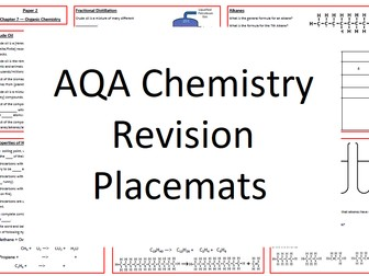 AQA Chemistry Revision Placemats