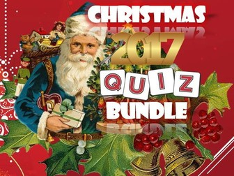 Christmas 2017: Quiz Bundle
