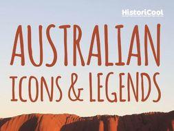 Australian Icons & Legends Resource Bundle