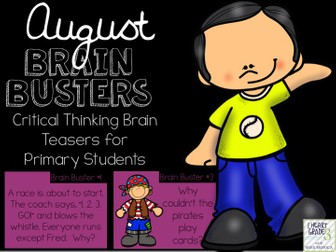 August Brain Busters