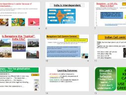 Place Study - Opportunities in India (Lessons and resources).