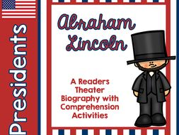 Presidents Day Abraham Lincoln Biography Readers Theater with printables