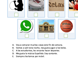 Free time GCSE Spanish Exam Style Question - Starter