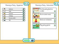 planning a party planning template by tesiboard teaching