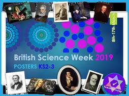 British Science Week 2019 KS2 Posters
