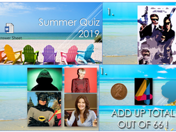 2019 Summer End of Year Quiz!