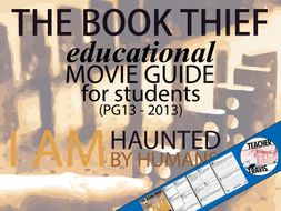 The Book Thief Movie Viewing Guide By Travis  Teaching Resources  The Book Thief Movie Viewing Guide