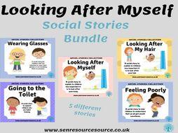 Looking After Myself Social Story Bundle