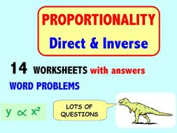 Proportion, Direct and Inverse