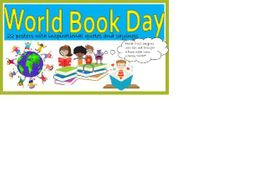 KS2 World Book Day Posters with quotes and sayings about books and reading.