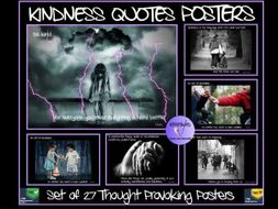Kindness Quotes Posters