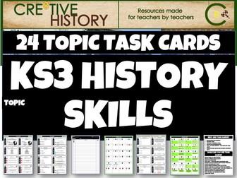 KS3 History Skills Task Cards