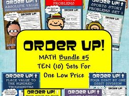 Order Up! Math Bundle #5 (10 Sets)