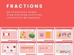Year 2 Fraction Interactive Activities