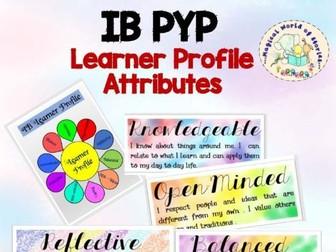 IB PYP Learner Profile Attributes