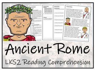 LKS2 History - Ancient Rome Reading Comprehension Activity