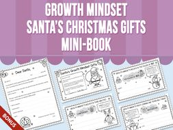 Growth Mindset - Santa's Christmas Gifts