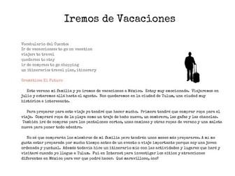 Short Stories Mini-Book (Spanish)