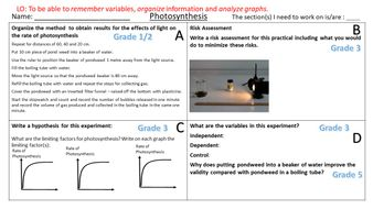 Photosynthesis-Required-Practical-Graded-Questions.pptx